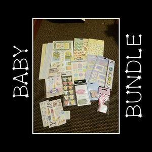 """Scrapbook Bundle #5 """"BABY BUNDLE"""""""